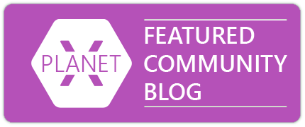 Badge Planet Xamarin - Featured Community Blog